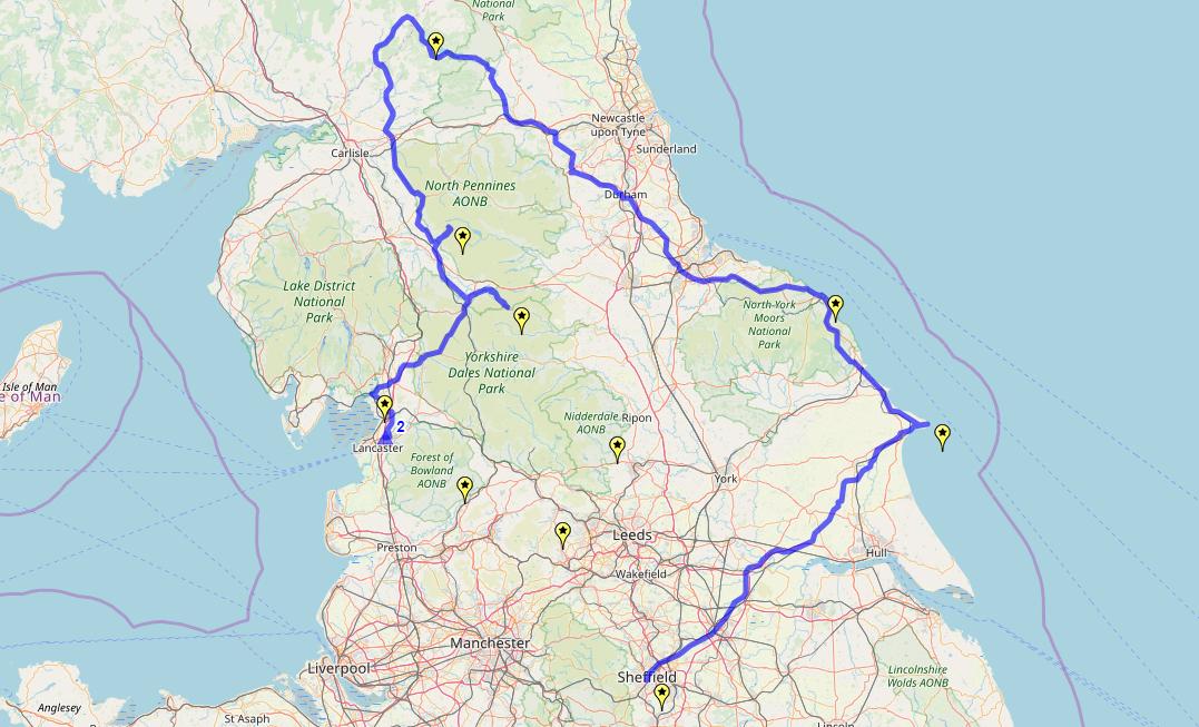 Route taken by #APNrider02
