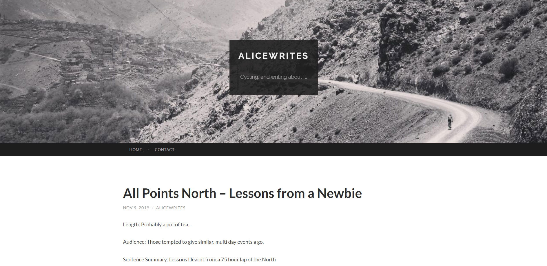 Alice Thomson writes about All Points North