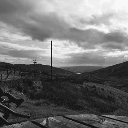 Bradley Woodruffe at Kirkstone Pass