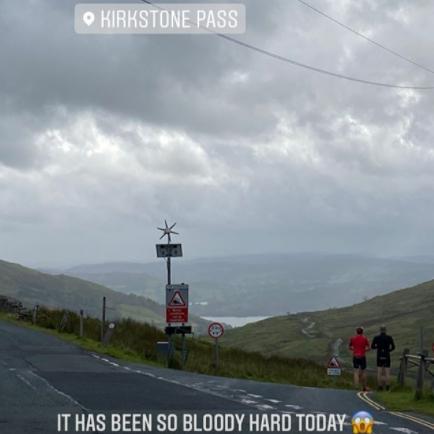 Caroline Soubayroux at Kirkstone Pass
