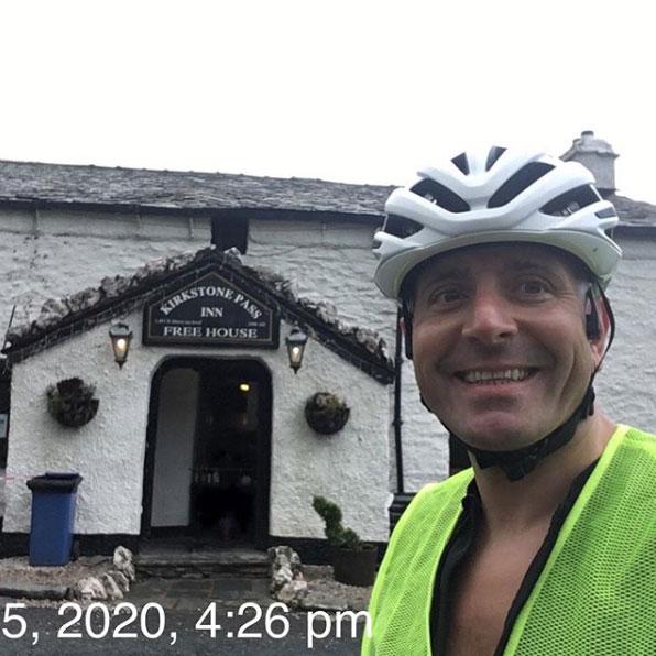 Ian Lyons at Kirkstone Pass