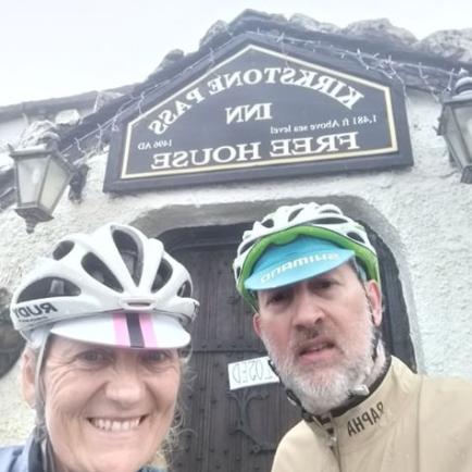 Julie and Simon Bullen at Kirkstone Pass