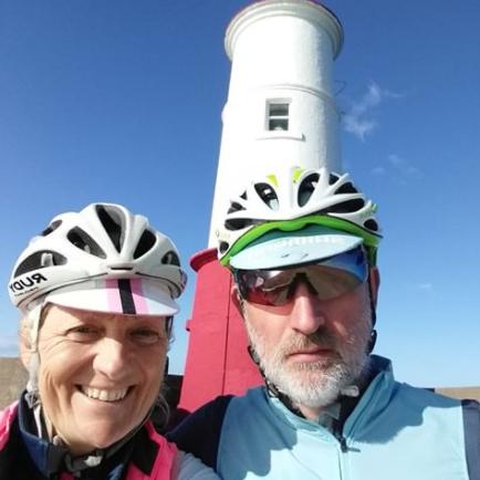 Julie and Simon Bullen at Berwick Pier