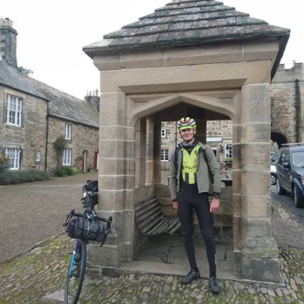 Oliver Haywood at Blanchland