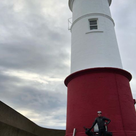 Paul Pearce at Berwick Pier