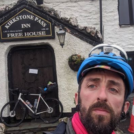 Tom Downes at Kirkstone Pass