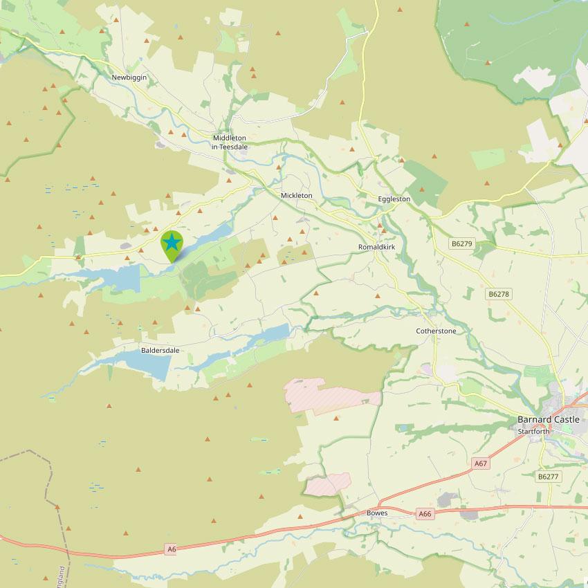 Grassholme - control map 2