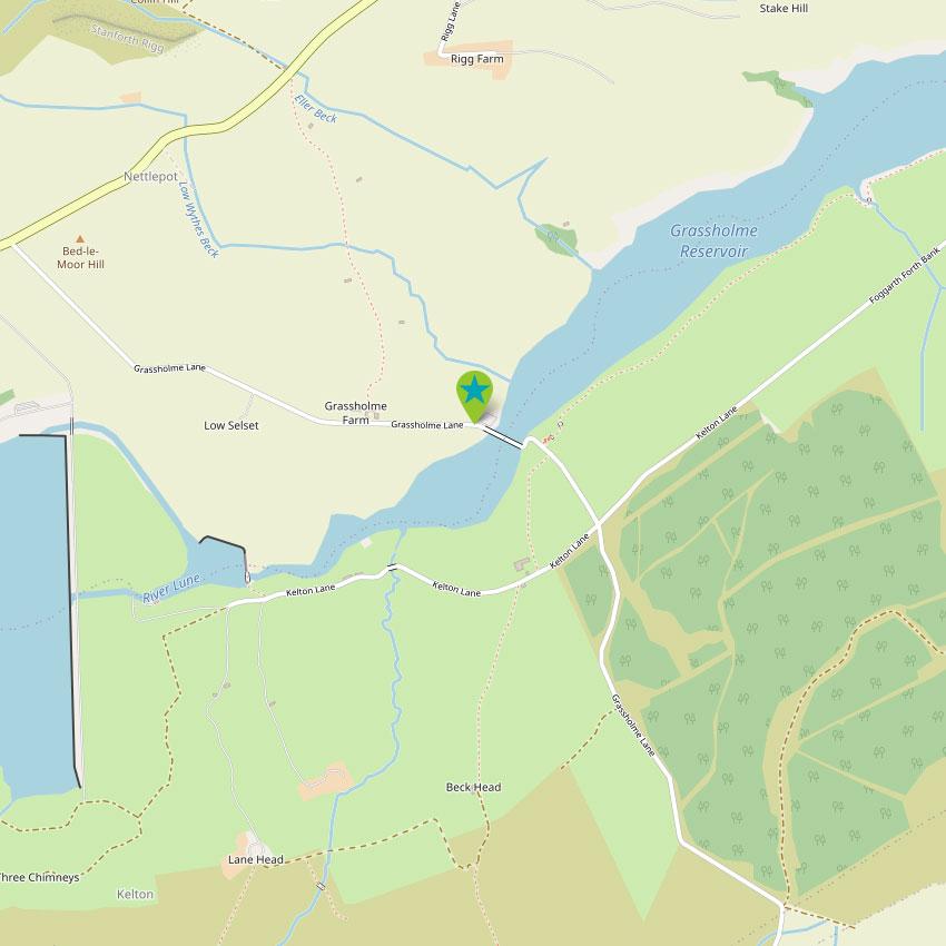 Grassholme - control map 1
