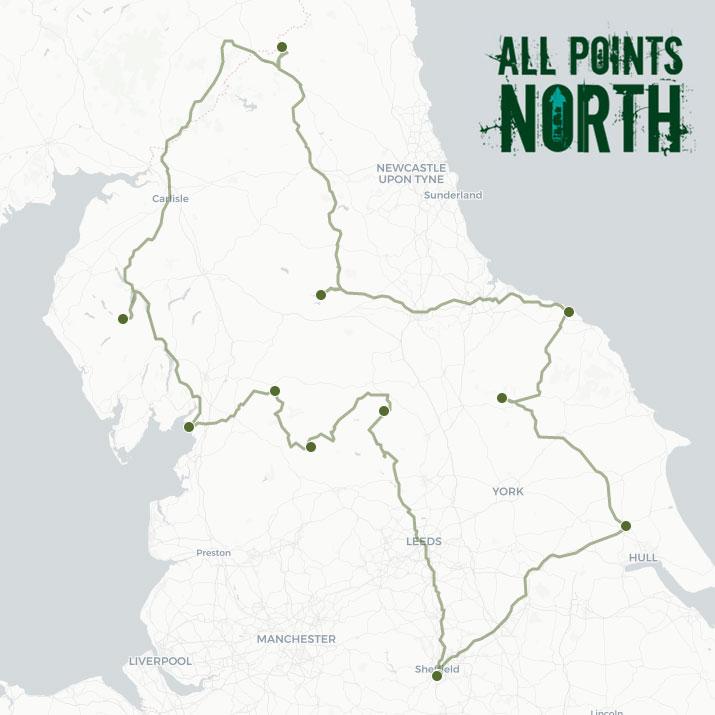 Pawel Pulawski's APN21 route