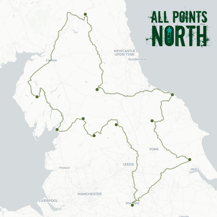 Hannah Milton's APN21 route