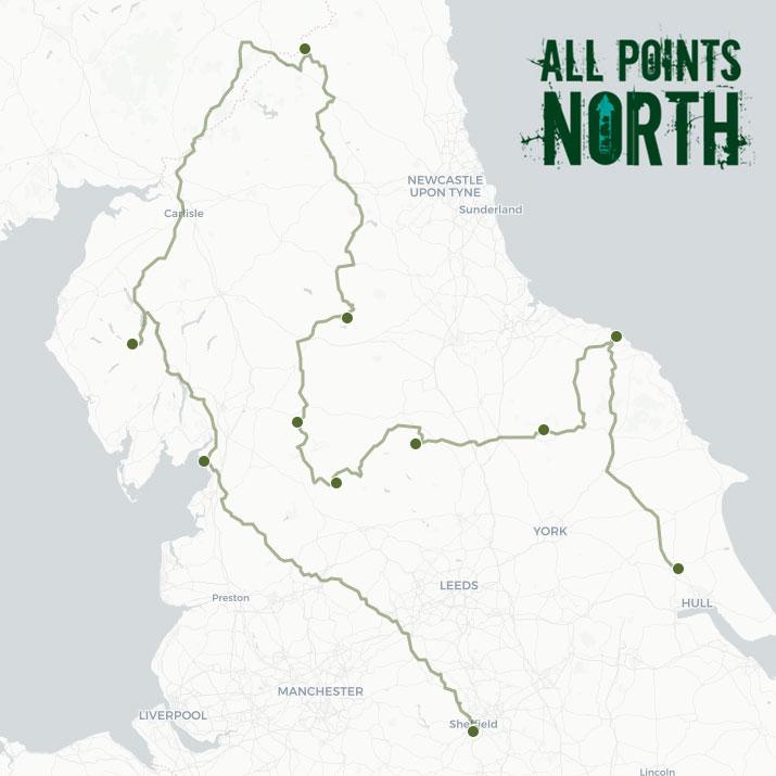 Ben Liguz's APN21 route