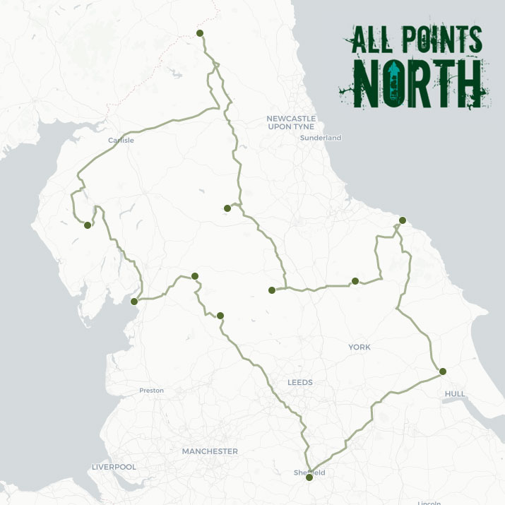 Timothy Welsh's APN21 route