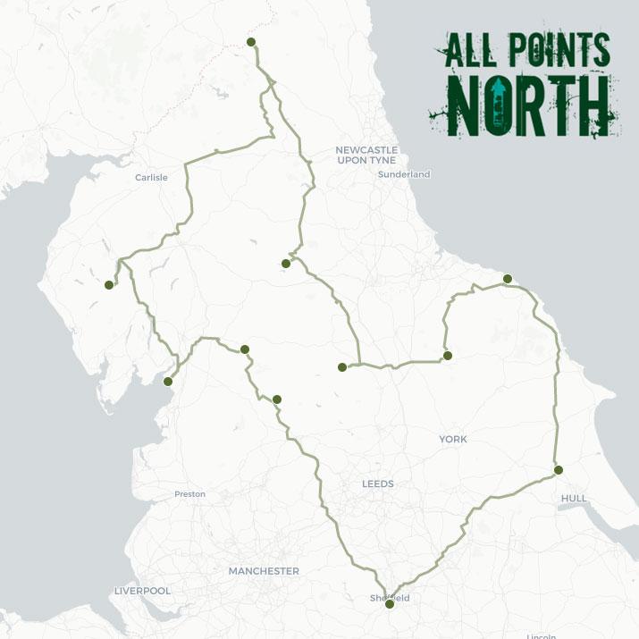 Trystan Sanders' APN21 route
