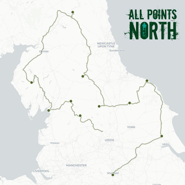 John Baston's APN21 route