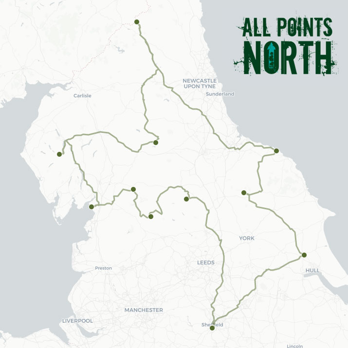 Laura and Steven's APN21 route
