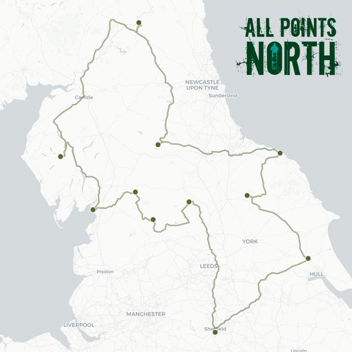 Bradley Woodruffe's APN21 route