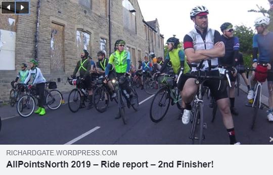 Richard Gate's Ride Report