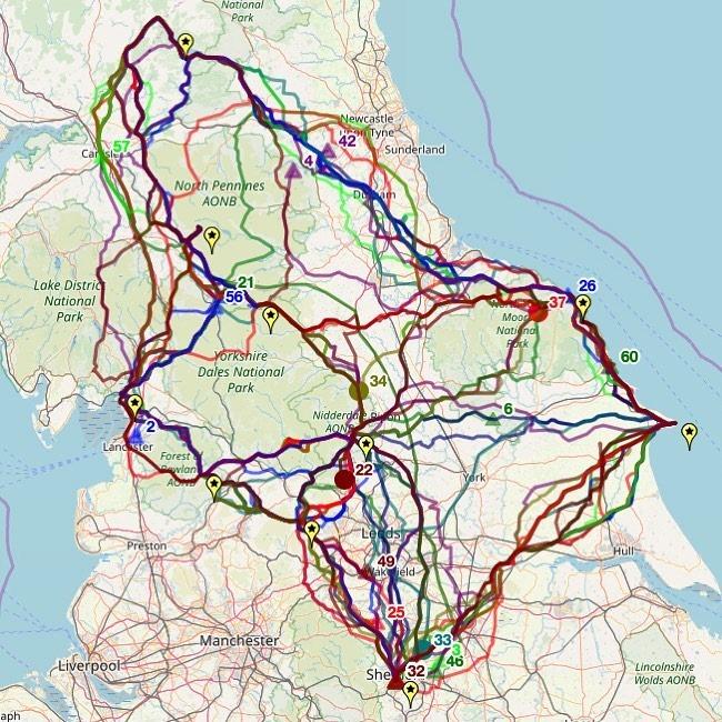 APN19 routes taken
