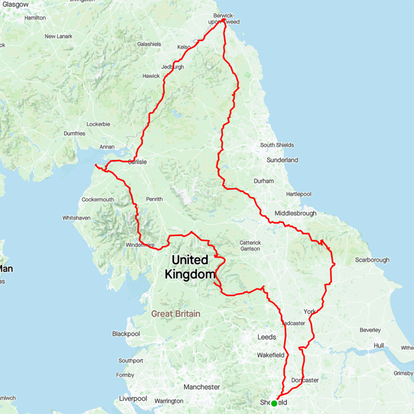 Jamie Oliver's NAPN20 route