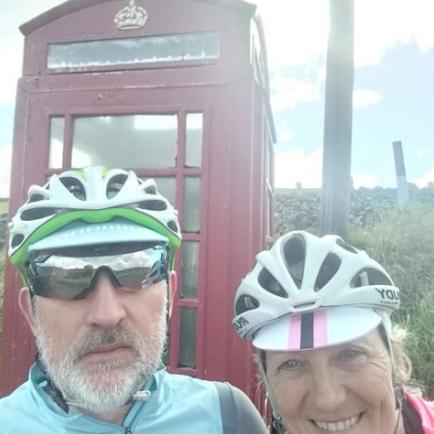 Julie and Simon Bullen at Keld