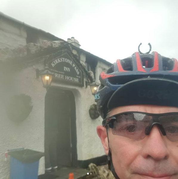 Neil Eaton at Kirkstone Pass