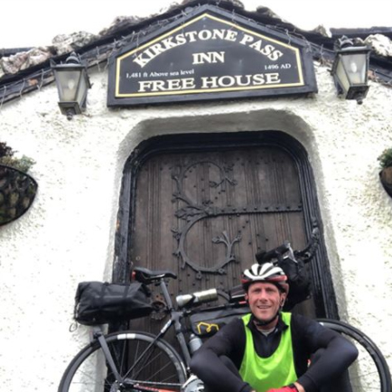 Paul Pearce at Kirkstone Pass