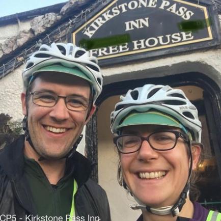Rachel Batt and Jim Stewart at Kirkstone Pass