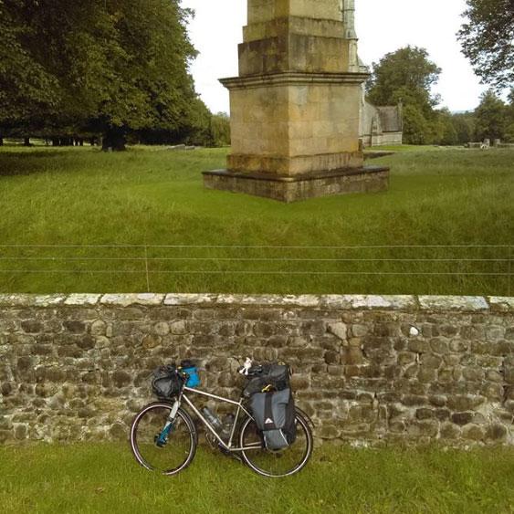 Sarah Freeman at Studley Royal Park