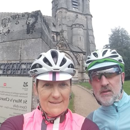 Julie and Simon Bullen at Studley Royal Park