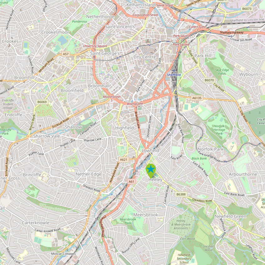 Heeley Institute - control map 2