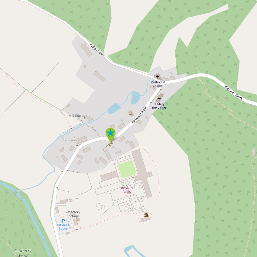 Rievaulx - control map 1