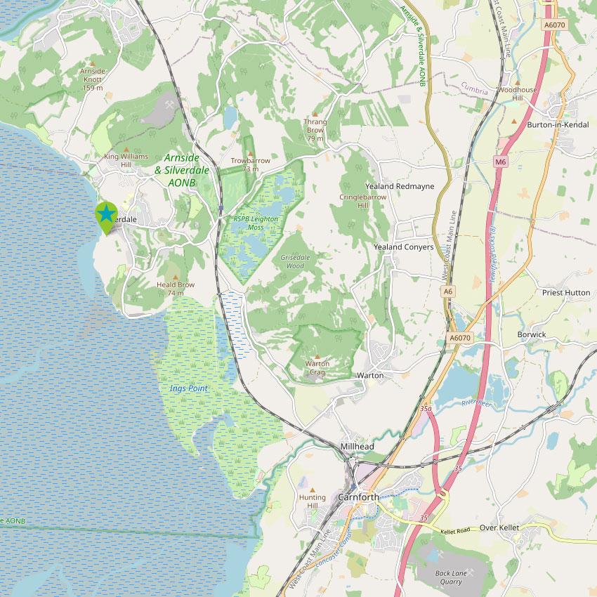 Silverdale - control map 2