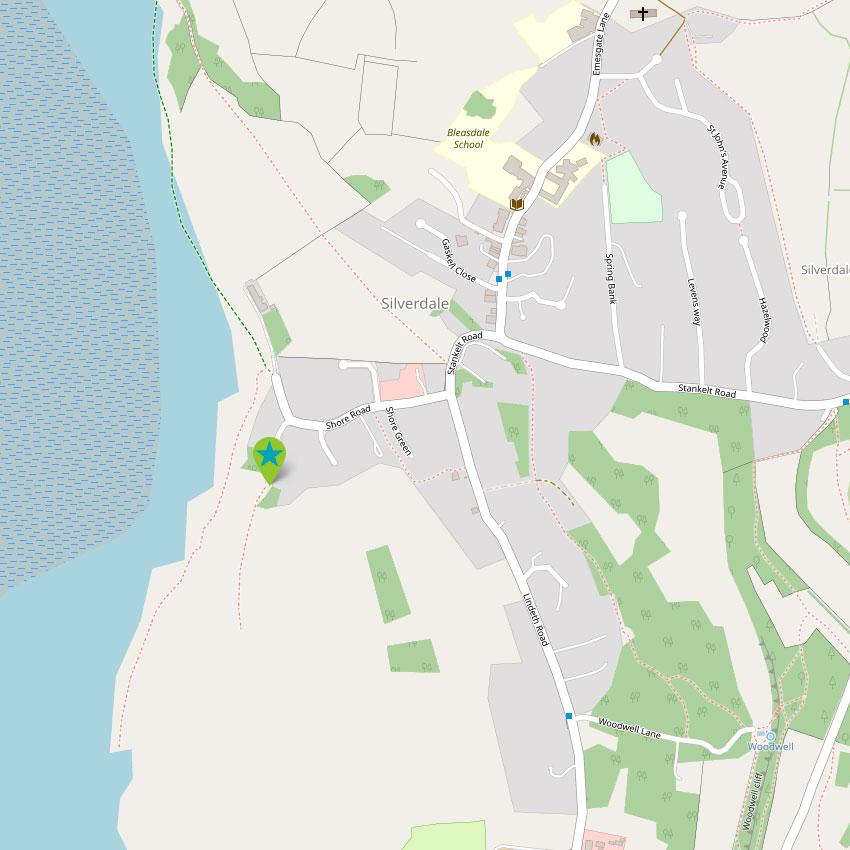 Silverdale - control map 1