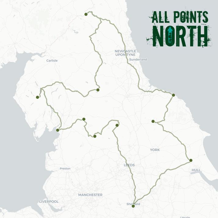 Martin McShane's APN21 route