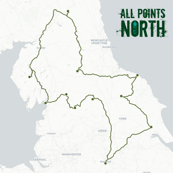David Palmer's APN21 route