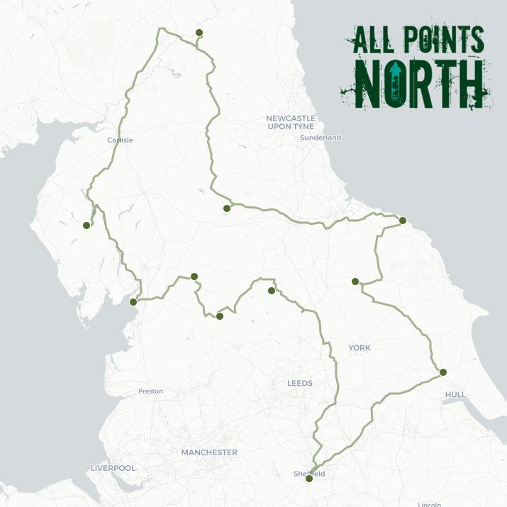 David Sherrington's APN21 route