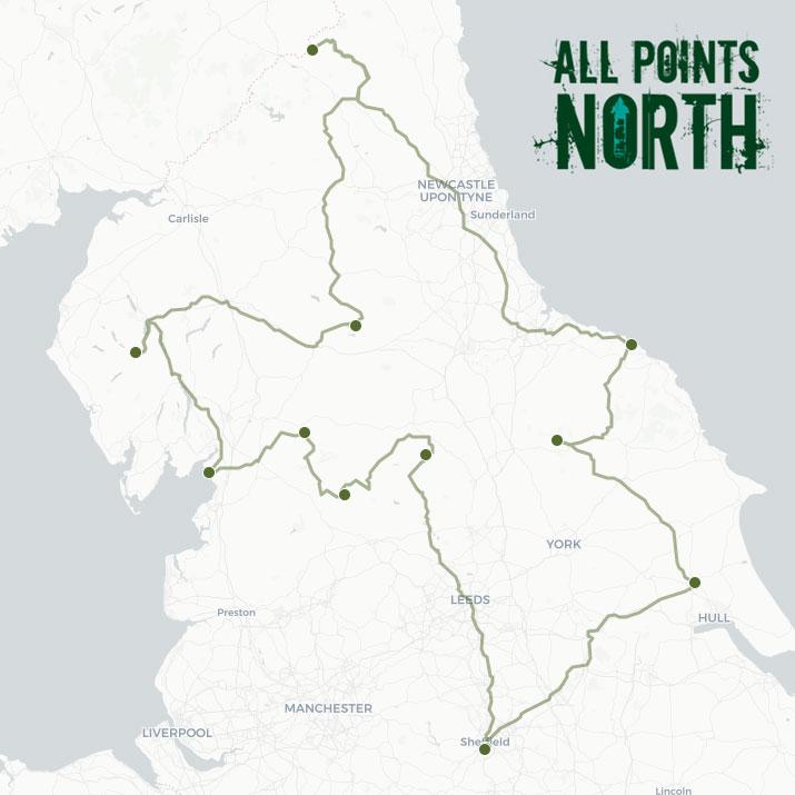 George Bennett's APN21 route
