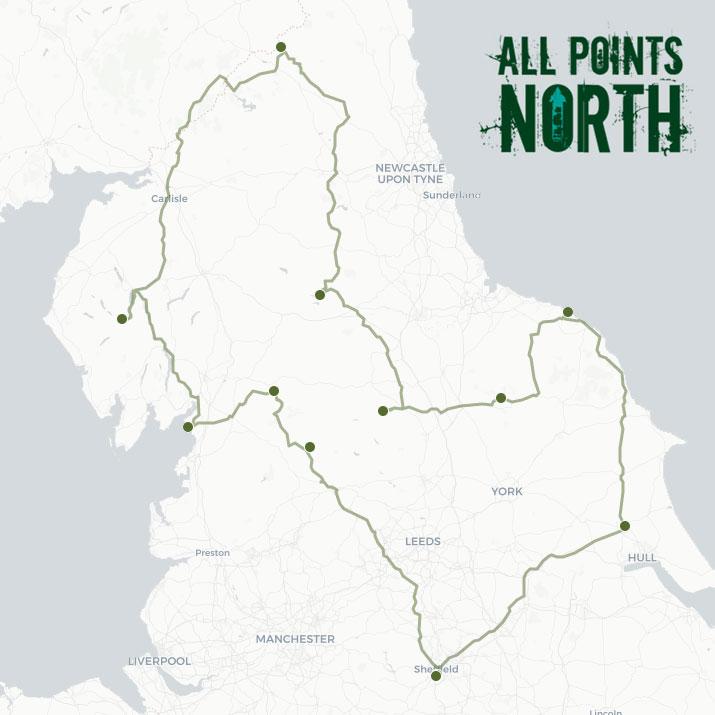 Charlotte Thompson's APN21 route