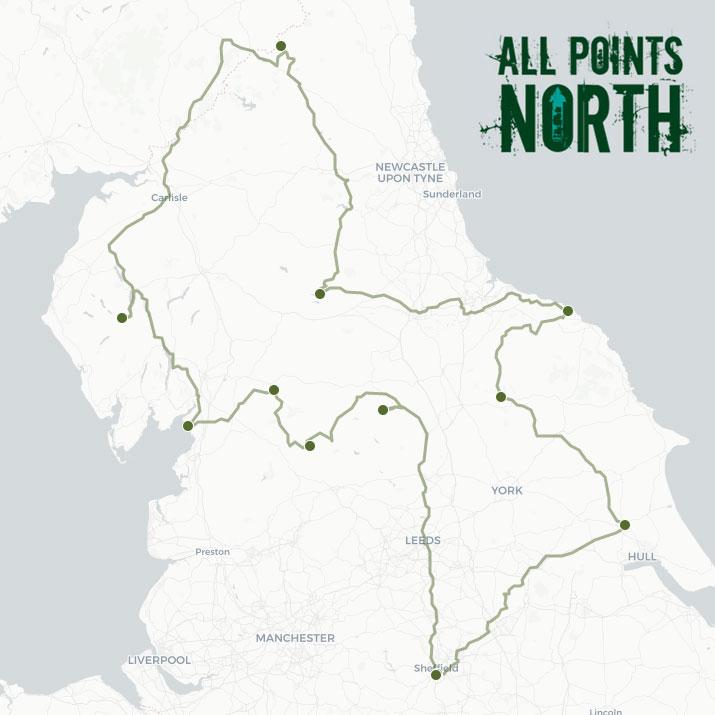 Kevin Stuart's APN21 route