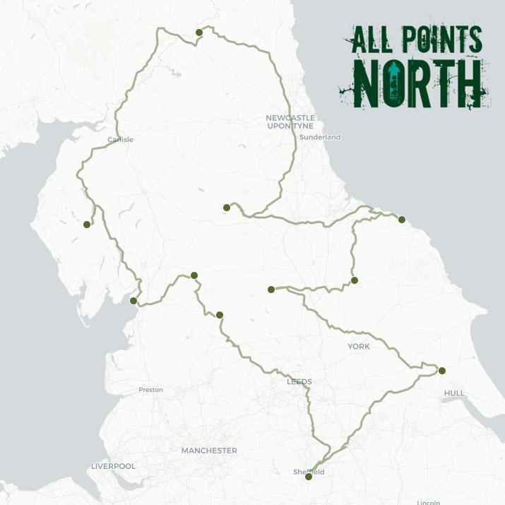 James Milne's APN21 route