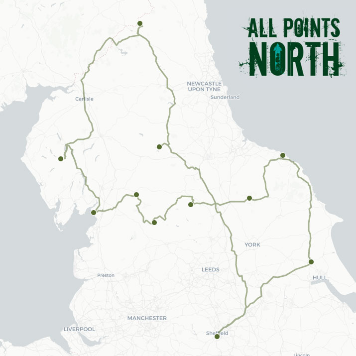 Carolyn Chamber's APN21 route
