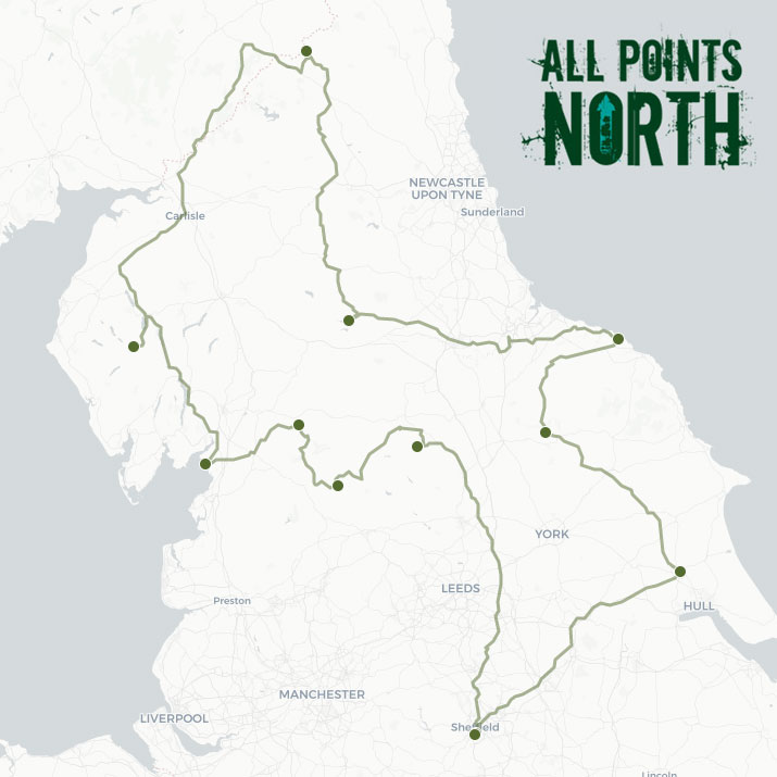 Shawn Duffy's APN21 route