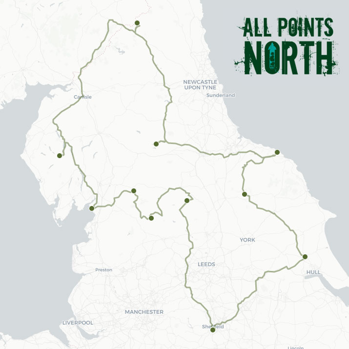 Lucy Hurn's APN21 route