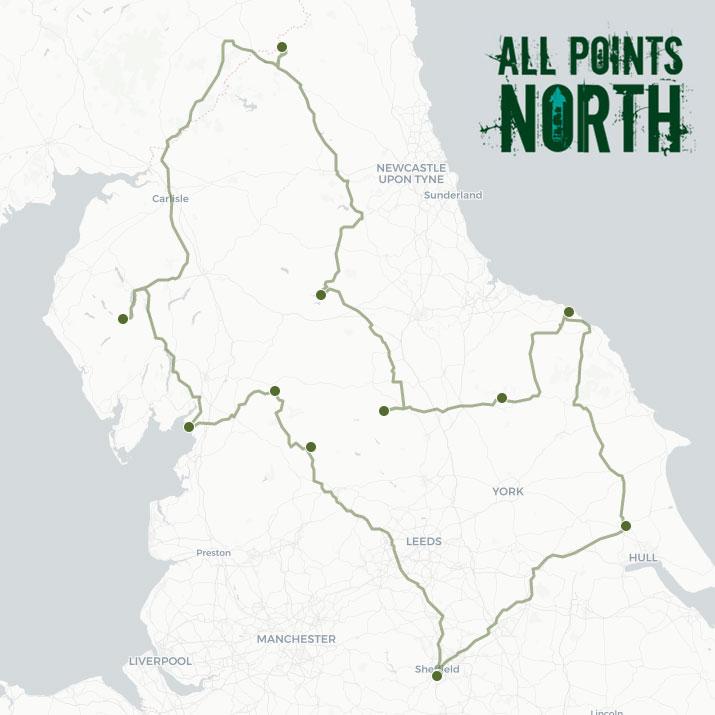 Callum James' APN21 route