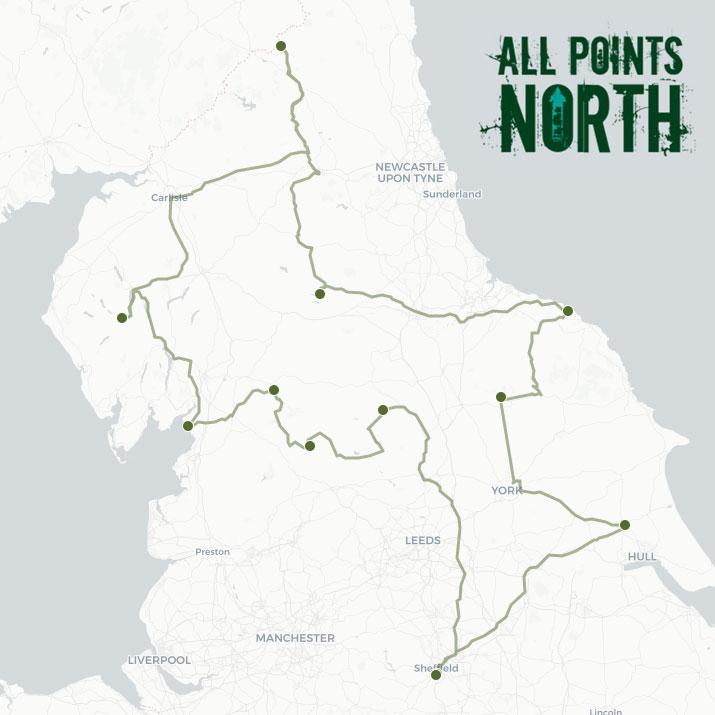 Mat Iving's APN21 route