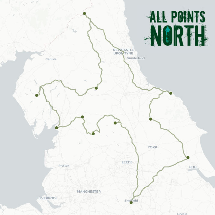 Will Scrimshaw's APN21 route