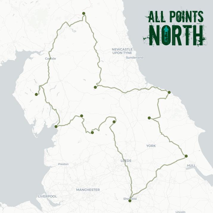 Ian and Kim's APN21 route