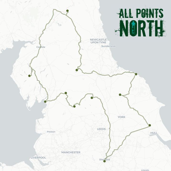 Gillian Harris' APN21 route